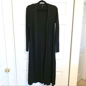 White House Black Market Long Open Cardigan